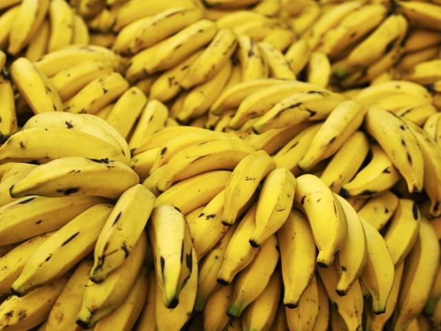 Plátanos La chica de verde